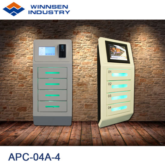 multi phone charging station. Wall Mouted Fast Charge Pin Operated Multi Phone Charging Station APC-04A-4