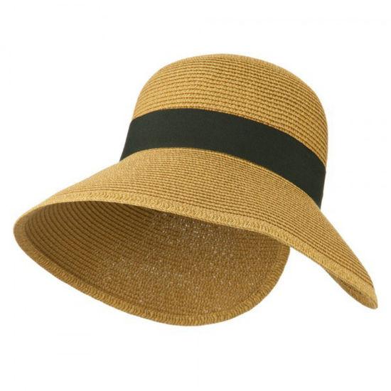 Women's Upf 50+ V Back Sun Visor Hat