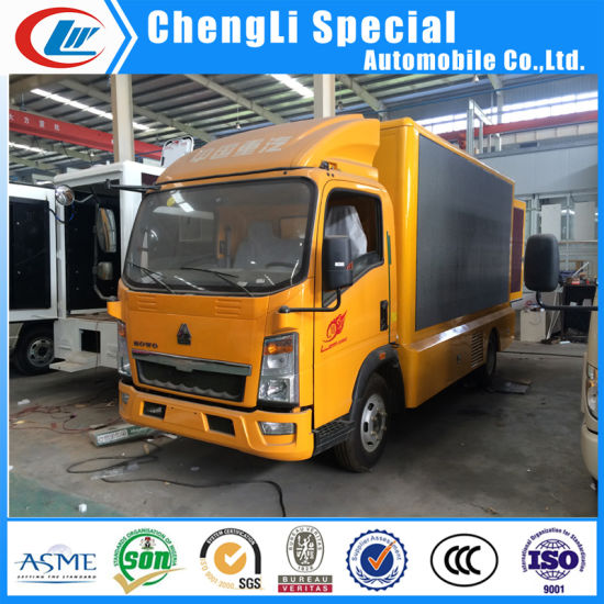 China Mobile Digital LED Billboard Advertising Truck - China