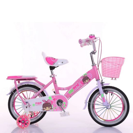 Princess Girl Bicycle for 4- 10 Years Old with Training Wheel (90324) pictures & photos