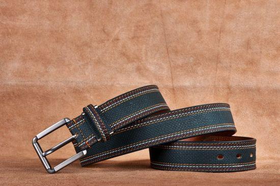 Fashion Popular Men PU Leather Belt