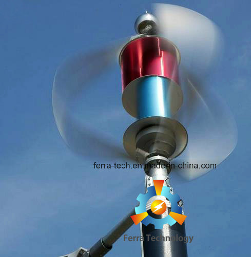 3kw Maglev Vertical Axis Wind Turbine (VAWT) pictures & photos