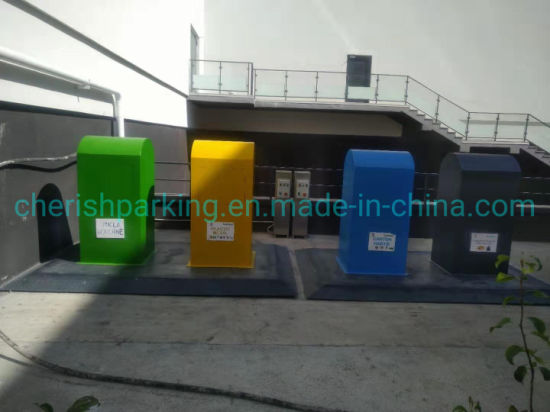 Good Price Durable Structure Stationary Scissor Lift for Waste Bin
