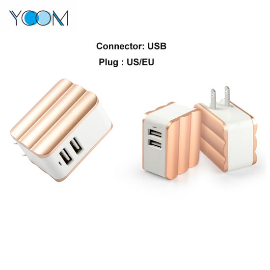 Ycom 5 V 2.4 a USB Charger for Mobile Phone pictures & photos