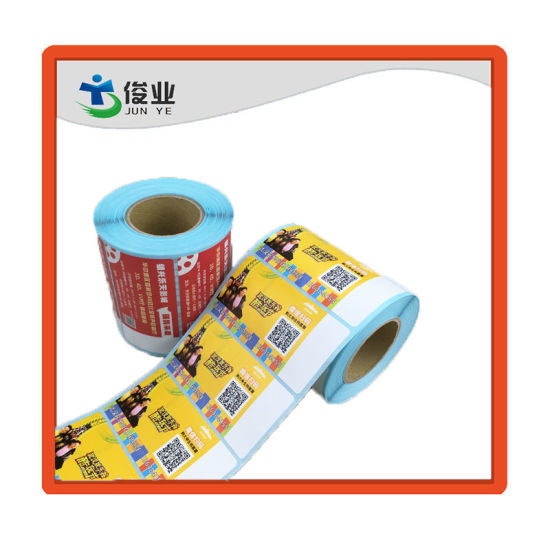 Customized Printing Barcode Sticker/Full Color Printing Label pictures & photos