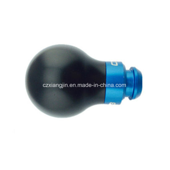 Aluminum Manual Car Gear Stick Shift Knob Shifter Lever Cover