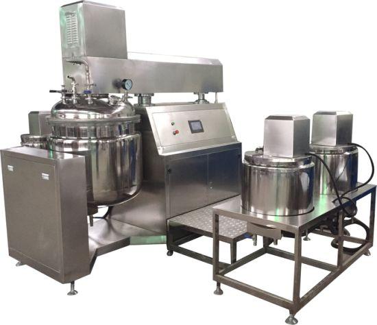 Cosmetic Cream Making Machine Vacuum Emulsifying Machine Emulsifying Machine