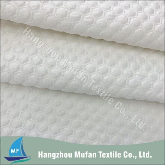 Honeycomb Cooling Knitted Jacquard Mattress Ticking Cloth or Fabric
