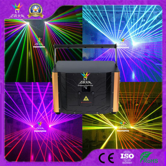 New Disco Party 5W RGB Full Color Animation DJ Stage Lighting Laser Light