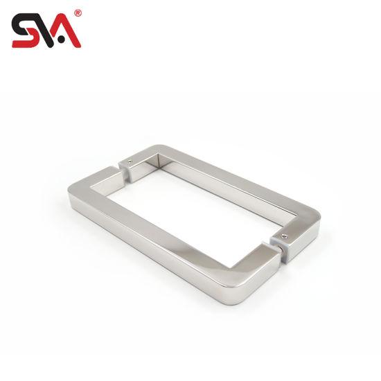 Sva-172 Commercial Bathroom Sliding Glass Door Finished Handle