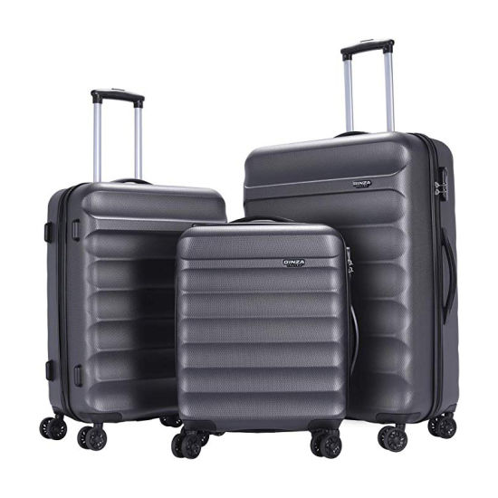 3 Piece Sets Lightweight Suitcase Anti-Scratch ABS Material Travel Luggage