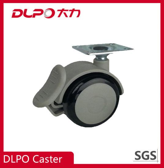 Dlpo 2 Inch Shore A95 TPR Swivel Household UV Sterilizer Wheel Castor