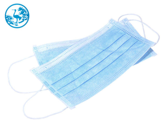 3-Ply Disposable Medical Face Mask Disposable Protective Face Mask Non-Woven Melt-Blown Fabric pictures & photos