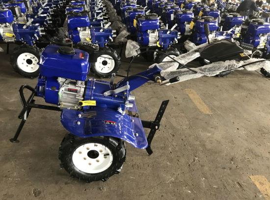 Gasoline Walking Hand Mini Tractor Farm Cultivators