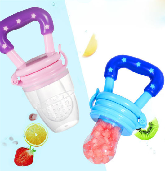 New Baby BPA Free Silicone Food Fruit Baby Nipple Feeding Pacifier