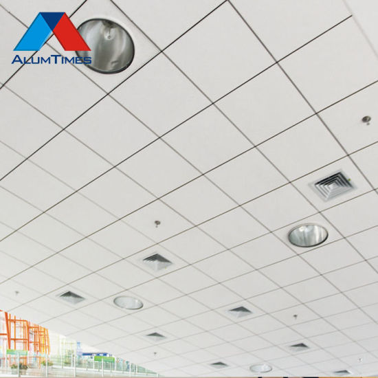 China 600x1200 Aluminum Lay In Ceiling Panels Exposed Ceiling Panels China Powder Coated Aluminum Ceiling Aluminum Lay In Ceiling