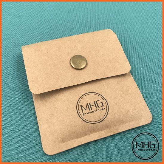 Brown Paper Cowhide Paper Portable Pocket Ashtray