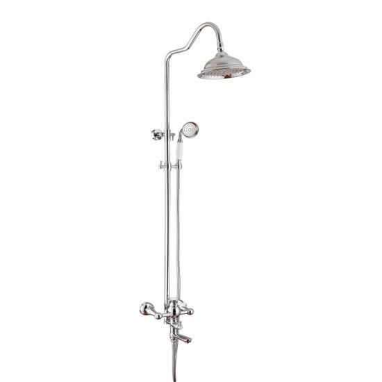 Brass Sliding Telephone Shower Morden Shower Set