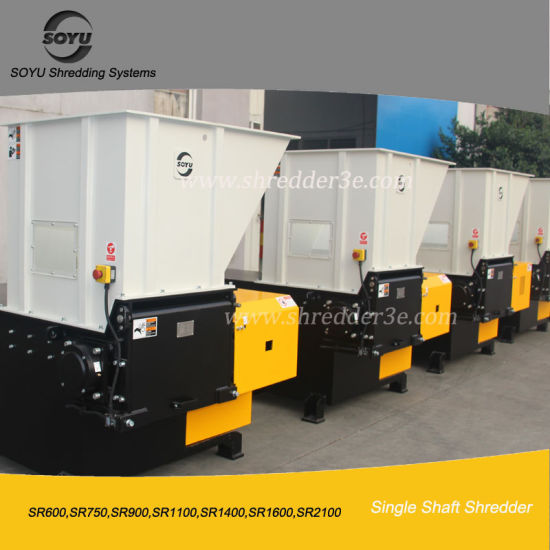 Single Shaft Shredder in Plastic Crushing Machines