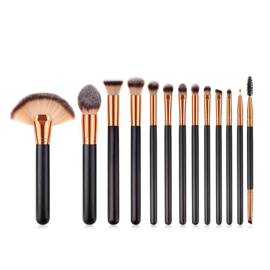 Private Label 15PCS Cosmetics Makeup Brushes Kit