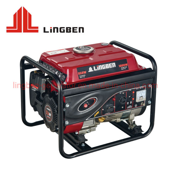 with Tire Kit China Light Weight 2.5kw 2.5kVA Gasoline Petrol Power Electric Generator pictures & photos
