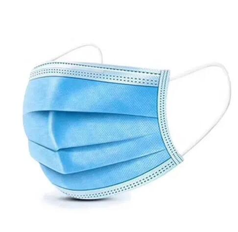 Non-Woven Disposable Face Mask Disposable Face Mask 3 Ply Earloop Face Mask Manufacturer