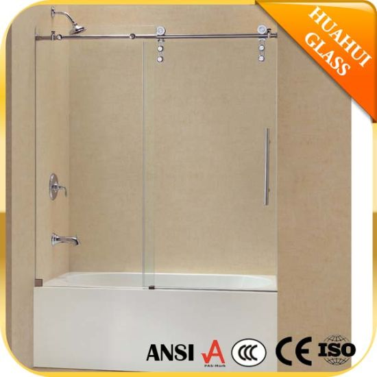 China Tempered Glass Bathtub Shower Door Enclosure Screen China Tub Shower Door Tub Shower Screen