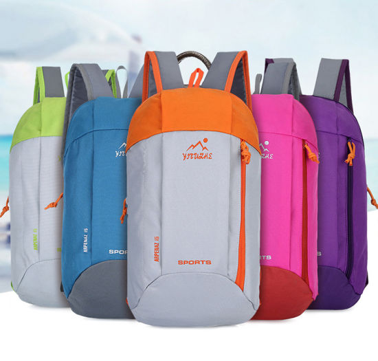 Customize Waterproof Nylon Foldable Bicycle Backpack Cheap Outdoor Back Pack