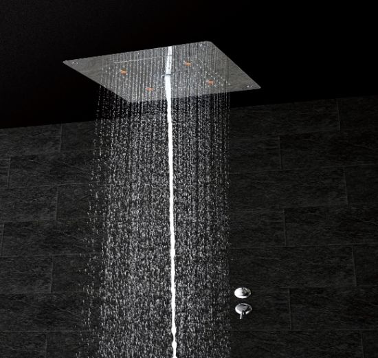 5 Function Rainfall Large Rainshower Concealed Waterfall Mist Ceiling Shower