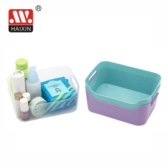 Newest Plastic Storage Box Without Lid for Bathroom and Household