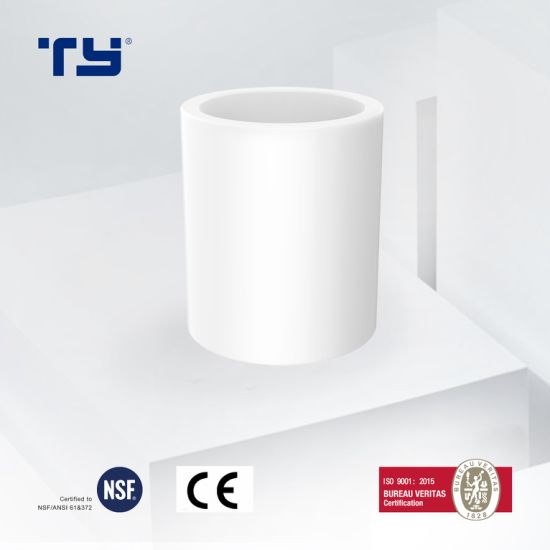 Coupling of ASTM D2466 Standard Plastic (PVC / CPVC/ PPR) Pipe Fitting for Supply Water
