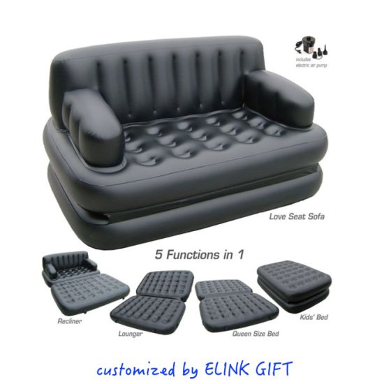 Portable Inflatable Air Bed For Outdoor Indoor Using