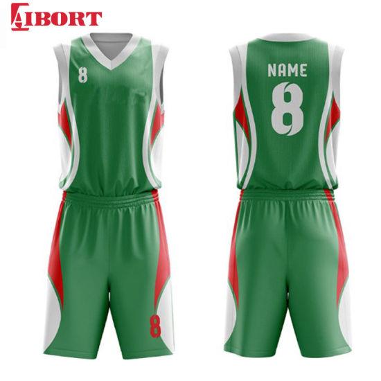 Aibort 2020 New Design Basketball Jerseys Youth Cheap Basketball Uniforms Clothing (J-BSK009 (1))