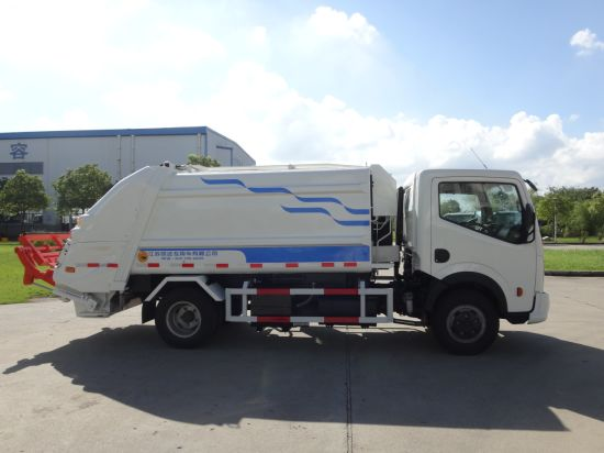 Yueda quality-assured rubbish truck compressed garbage trucks for sale pictures & photos
