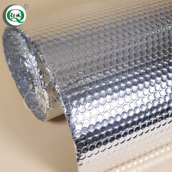 Waterproof Material Aluminum Foil Bubble Insulation Double Sided Foil Bubble for Water Tank