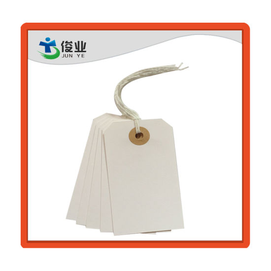 High Quality Hang Tags White Hang Tag and Brown Tag for Garment