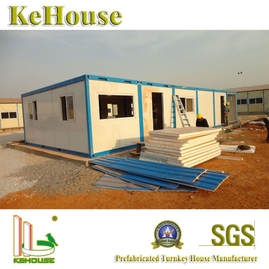 China Philippines Low Cost Housing Construction Modular Building
