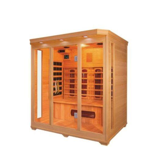 Luxury Home Sauna Far Infrared Sauna Room for 4 People (QD-C4)