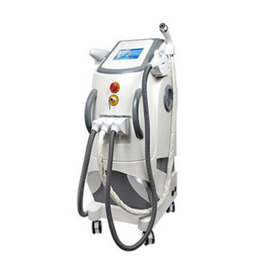 3 in 1 Q Switched ND YAG Laser Tattoo Removal RF Elight IPL Hair Removal Beauty Equipment