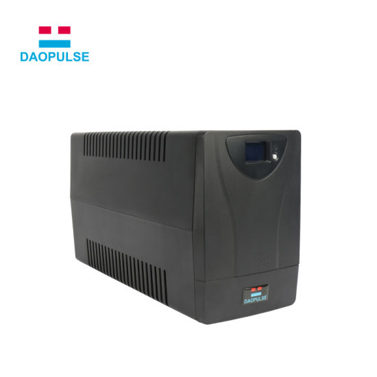 Offline Online Line Interactive UPS 650va Power Inverter with Built in Battery