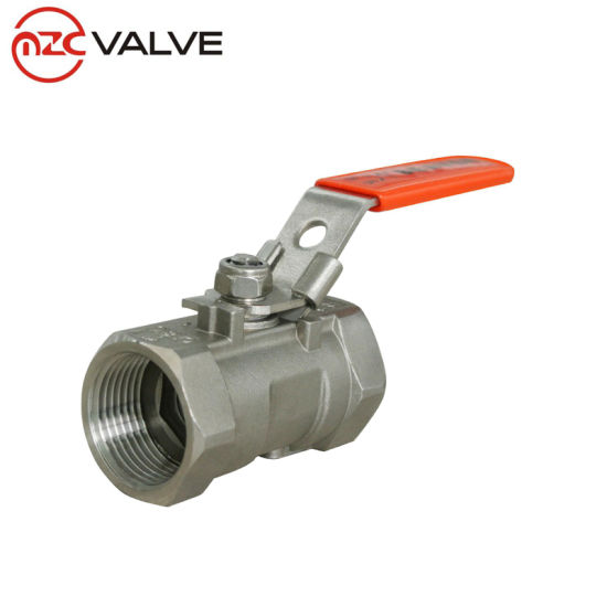2PC Female Threaded Stainless Steel Floating Ball Valve Manufacturer pictures & photos