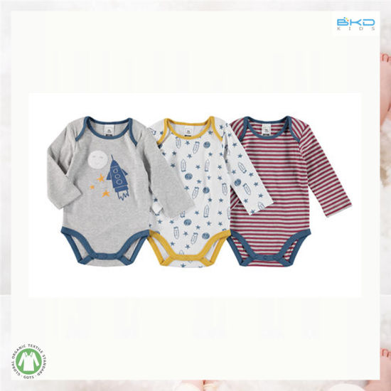 2019 New Style Long Sleeve Baby Clothes Envelop-Neck Boys Baby Bodysuits
