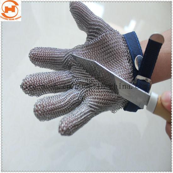 Welded Mesh Anti-Cut Stainless Steel Gloves