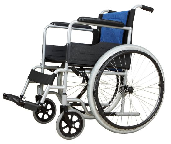 The Cheapest Commode Wheelchair for Disabled Elderly with Ce Certification