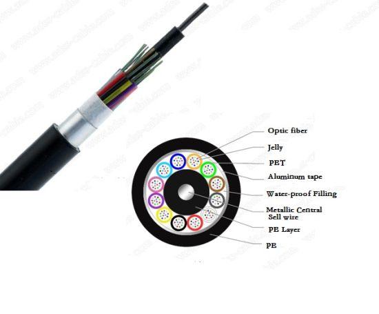 Communication Cable Optical Fiber Cable GYTA, GYTS Gytw 2- 48core