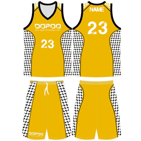 Custom Men Sublimated Basketball Uniforms for Your Teams pictures & photos