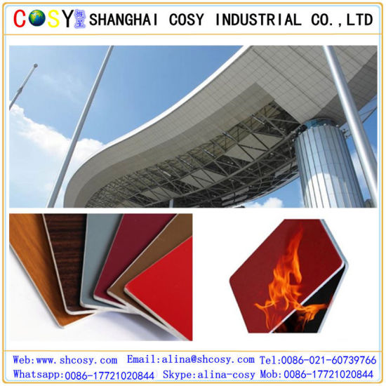 4mm Exterior PVDF Aluminum Composite Panel/ ACP pictures & photos