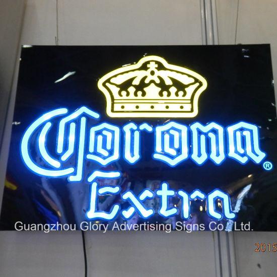 Corona extra beer sign ad wall decor led light box