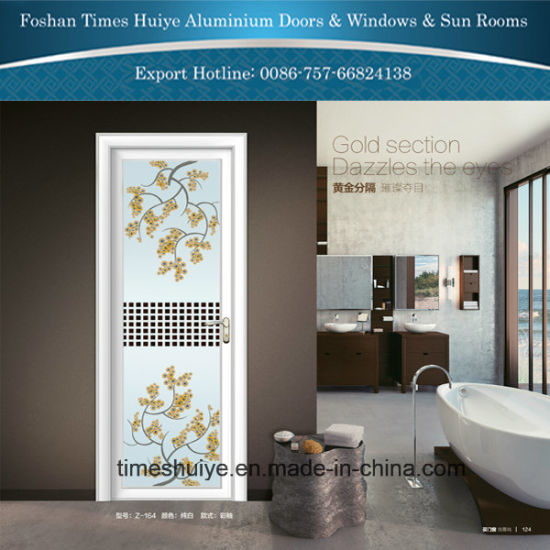 Aluminum Door for Shower Room with Double Glasses
