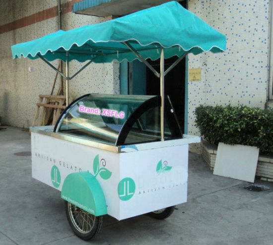 Ice Cream Cart/Ice Ceam Push Carts (B4) pictures & photos